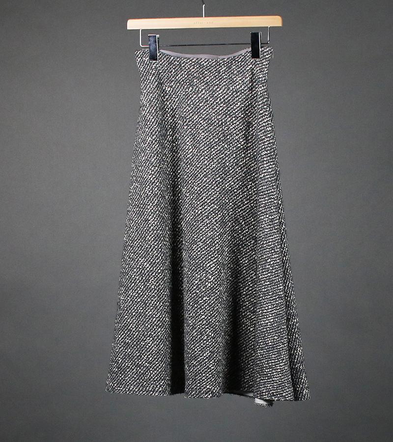 ロービングスラブジャガーニットスカート