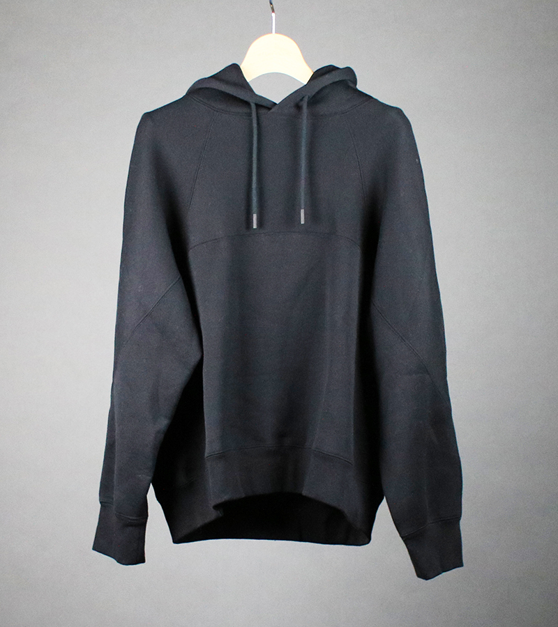 cotton-terry hoodie