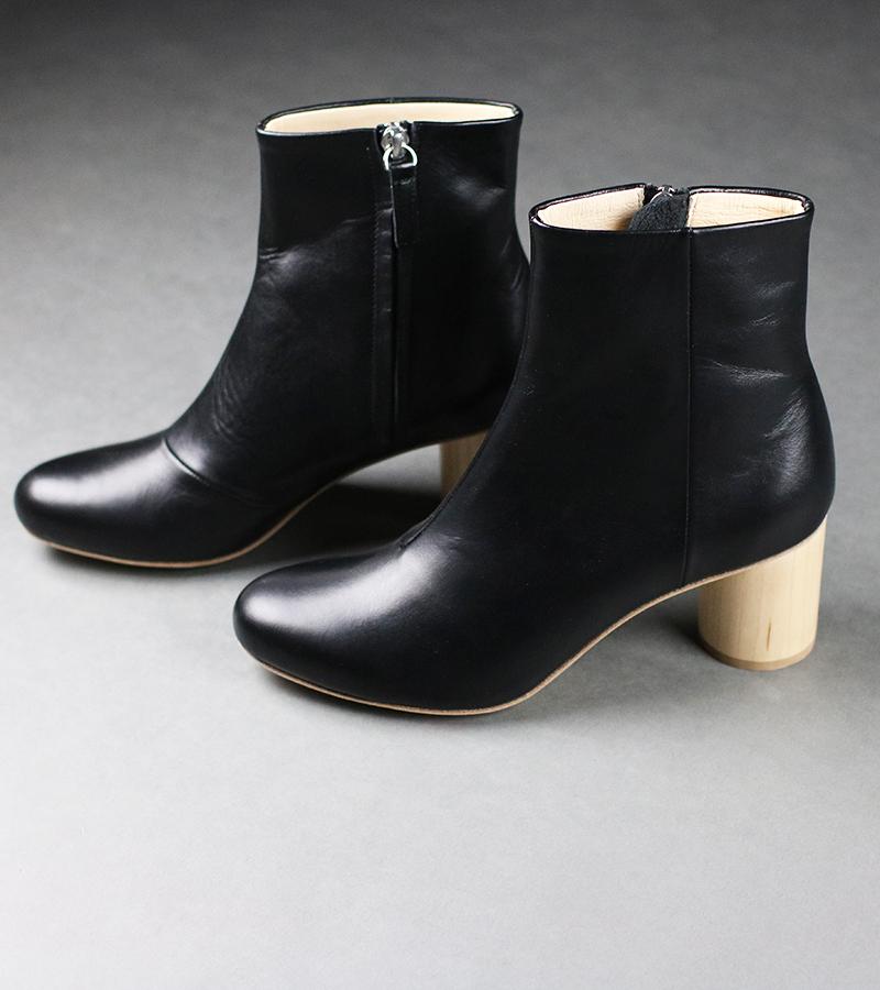 wood heel boots 59