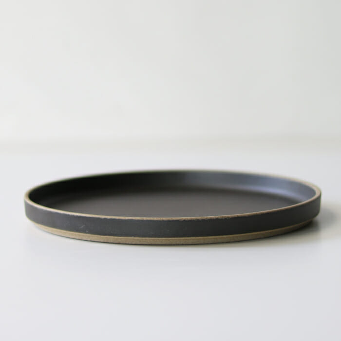HASAMI PORCELAIN / Plate ブラック HPB004