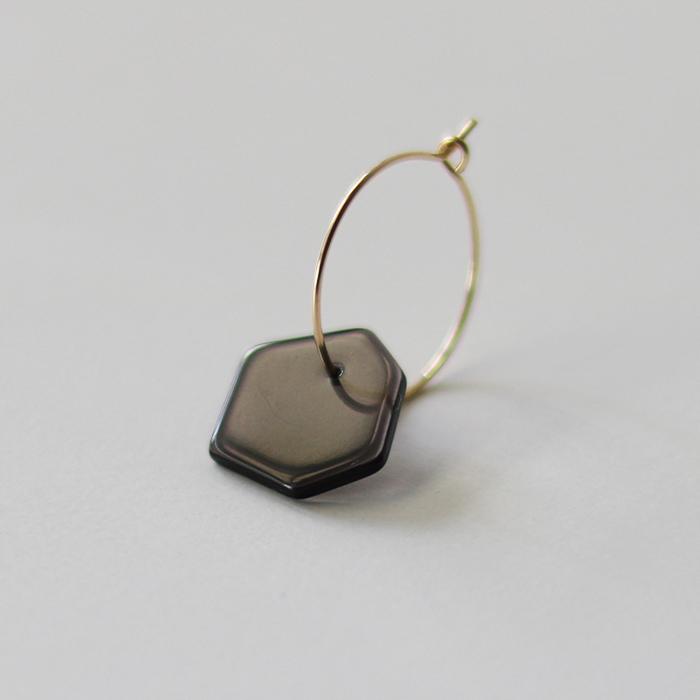 Sur (サー) / pierce HP-P2 [BLACK](片耳販売)