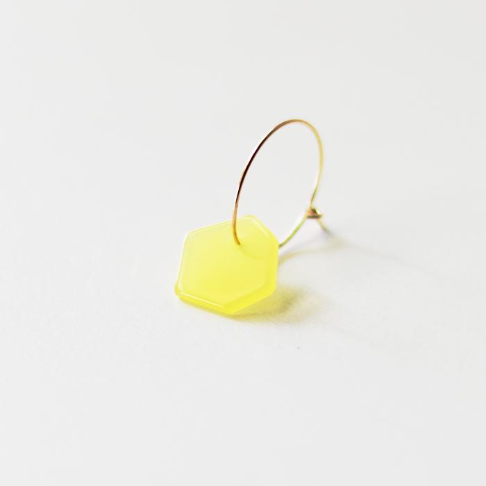 Sur (サー) / pierce HP-P2 [YELLOW](片耳販売)