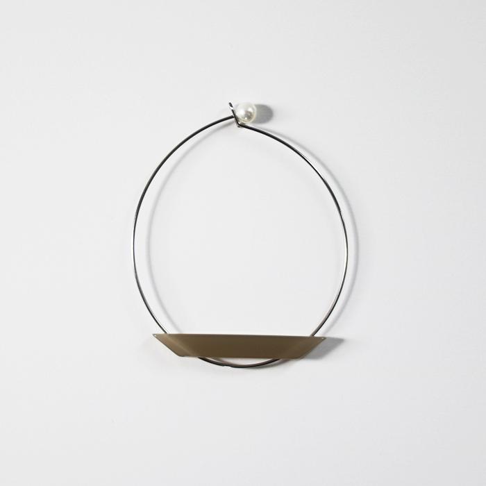 Sur (サー) / titanium bracelet TI-BR1 [GRAY]