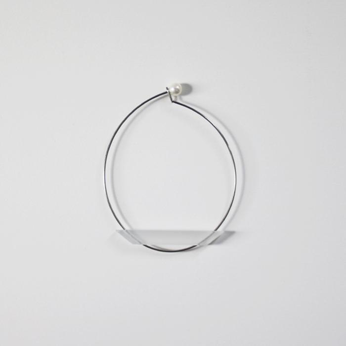 Sur (サー) / titanium bracelet TI-BR1 [MATTE CLEAR]