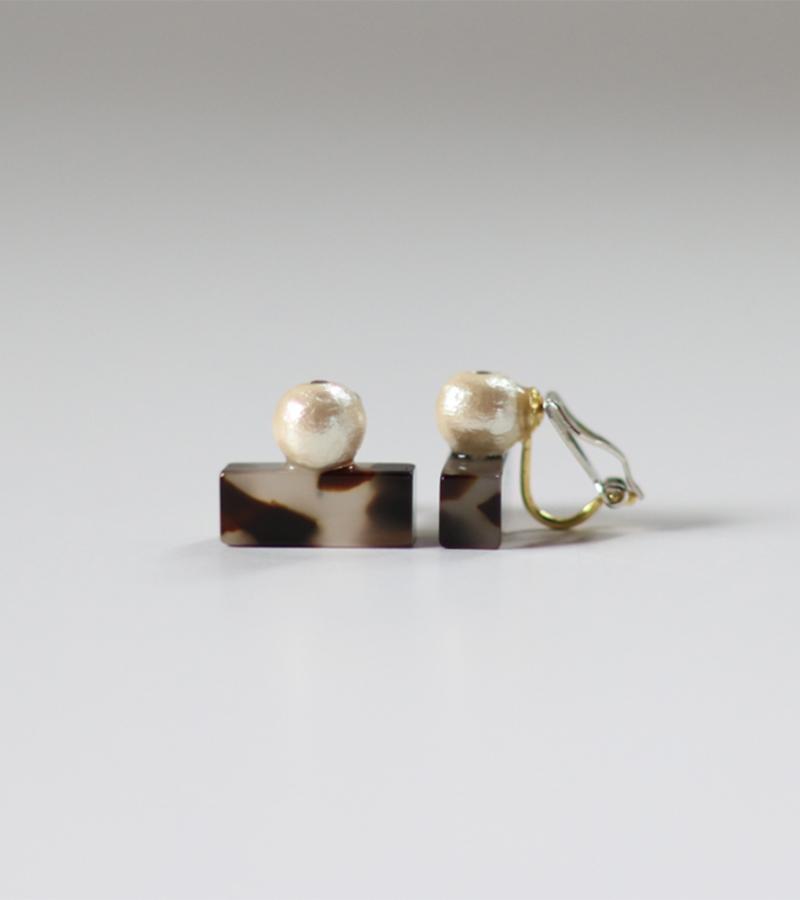 Sur (サー) / earring SR-EA2[COW]